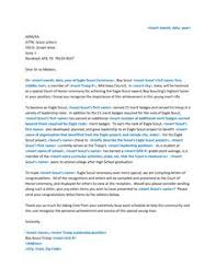 Download Eagle Scout Re mendation Letter Sample Letters by