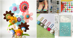 Best Button Craft Ideas For Adults Creative