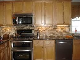 Kitchen Backsplash Designs With Oak Cabinets by Kitchen Backsplash Light Cabinets Interior Design
