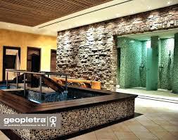 naturstein wandverkleidung wohnzimmer design
