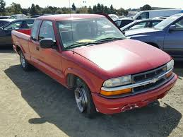 100 1998 Chevy Truck For Sale 1GCCS1941W8239599 RED CHEVROLET S TRUCK S1 On In CA