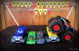 100 Monster Truck Cookies Cake Amp Cream Cake With Amp Cream