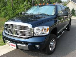 Patriot Blue Truck W/ Cab Lights - Dodge Diesel - Diesel Truck ...
