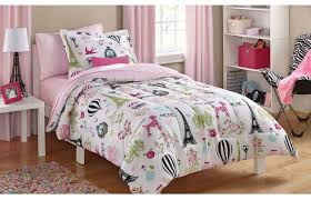 Twin Horse Bedding by Girls Twin Bedding 5pc Pink Purple Horse Pony Twin Comforter