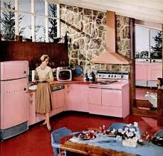 Pink Everywhere It Must Be The 1950s This Kitchen Is A Design From 1958 Spotted On Midcentury Living