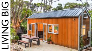 100 Architecturally Designed Houses Architect And Designer Couple Create Spectacular Tiny House In The Bush