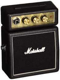 Amazon.com: Marshall MS2 Battery-Powered Micro Guitar Amplifier ...