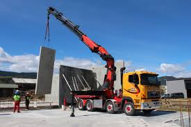 100 Truck Mounted Cranes Lift N Shift Fleet Crane And Transporation Vehicles Nelson
