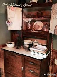 What Is A Hoosier Cabinet Insert by On The Back Roads Of Kentucky My Kentucky Living