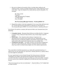 Example Of Resume Cover Letter For Job