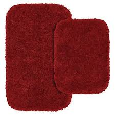 burnt orange bathroom rugs target