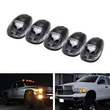 Black Smoked Lens LED Cab Roof Top Marker Running Lights For 4X4 ATV ... Best Lights For Truck Amazoncom Ijdmtoy 5pcs Amber Led Cab Roof Top Marker Running 2 X Top Quality Bumper Firesafety Rescue Engine Truck With Music Park Ranger Vehicle Lights Flashing Stock Photos 5x Smoked Suv Off Road 5 For Trucks Bumpers Windshield Jeep Tents Tuff Stuff 4x4 2016 Ford F150 Special Service Joins Police Force News 12 Rv Discount Universal Teardrop Style Led Clearance