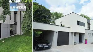 maison en cube moderne gagnant concours 2012 construction d une maison cubique très