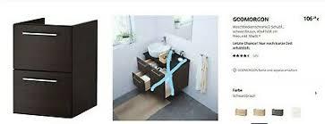 ikea godmorgon waschbeckenschrank badezimmer schubladen