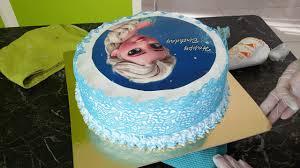 eiskönigin elsa torte