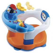 siège de bain pour bébé siège de bain interactif vtech jouets 1er âge jouets de bain