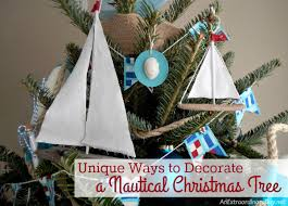 Creative And Unique Ways To Decorate A Nautical Christmas Tree