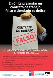 Extranjería Y PDI Inician Campaña Para Evitar Uso De Contratos De