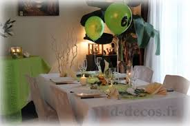 decorations anniversaire décoration table anniversaire