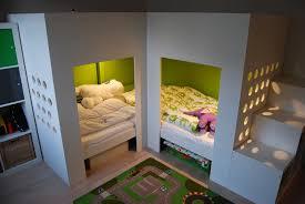 Ikea Flaxa Bed by Mydal Loftbed With Play Area Ikea Hackers