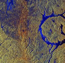 Manicouagan Crater In Canada Source Copernicus Sentinel Data 2015 ESA