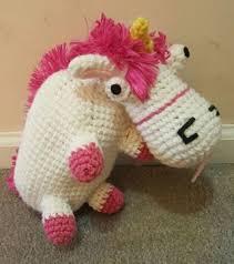 ITS SO FLUFFY Unicorn Despicable Me HANDMADE Amigurumi Crochet Plush Toy MINIONS