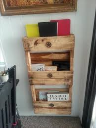 DIY Pallet Wall Shelf with 3 Levels