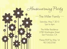 Housewarming Party Invitation By PurpleTrail