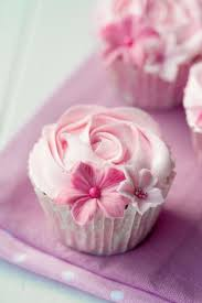 Tiny Stale Pink Cupcakes