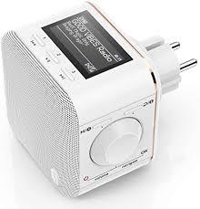 hama steckdosenradio dab dab digitalradio klein in radio mit dab dab plus fm bluetooth aux radio wecker beleuchtetes display geeignet für