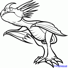 To Train Your Dragon Toothless Coloring Pages How