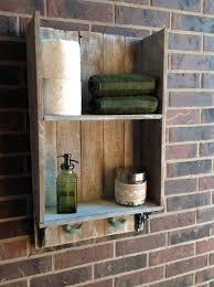 Rustic Bathroom Wall Decor Style