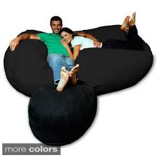 Fuf Bean Bag Chair Medium by Sofa Beautiful Giant Bean Bag Chair Fuf Oversized Memory Foam