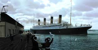 Roblox Rms Olympic Sinking by Rms Titanic Stern View By Eric Arts Inc On Deviantart