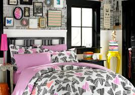Lovable Teen Girl Bedroom Decoration With Various Vogue Bedding Ideas Stunning Pink And Grey