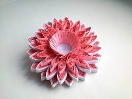 Papercraft DIY Paper 3D Quilling Tutorial