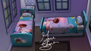 Doc Mcstuffins Toddler Bed Set by Mod The Sims Doc Mcstuffins Children U0027s Bed