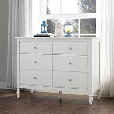 Camp Dresser Pottery Barn by Amazon Com Dorel Living Vivienne 6 Drawer Dresser White Kitchen