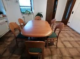 esszimmer tisch plus 6 stühle