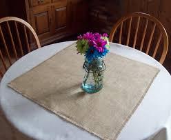 Set Of 10 Wedding Table Squares Decorations Burlap Sizes 24 X 30 36 Rustic Fall Decor