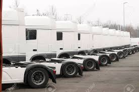 100 White Trucks For Sale Long Line Of White Trucks For Sale On A Parking Place