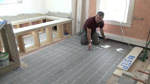 how to install heated floors heated floor mats for bathroom tile