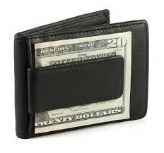 travel light in a men u0027s leather money clip wallet and card holders