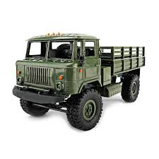 Wpl B 24 Gaz 66 Diy 1 :16 Rc Climbing Military Truck Mini 2 .4g 4wd ...