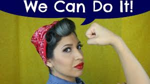 Rosie The Riveter Halloween Tutorial by Tutorial Para Halloween Rosie La Remachadora The Riveter Youtube