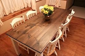 Oval Farmhouse Kitchen Table Home Design Ideas
