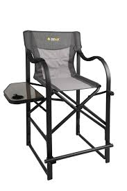 OZtrail Directors Vantage Chair With Side Table