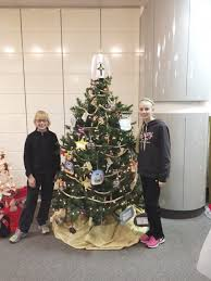 St Theodore Catholic School Students Made Decorations For A Christmas Tree Included In The Art Centers Evening Of Dazzle Chris Vogt And Her Daughters
