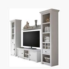 landhaus wohnzimmer möbel in weiß chelles 4 teilig