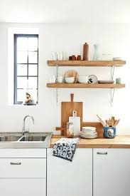 Kitchen Counter Shelf Ikea Captivating Images Of Decoration With Rustic Shelves Astounding Image
